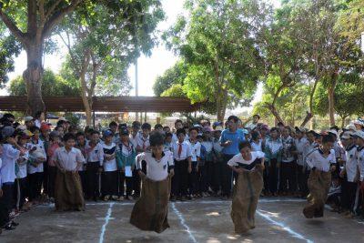 Hình ảnh THCS Nguyễn Tất Thành tổ chức Hội thi Trò chơi dân gian