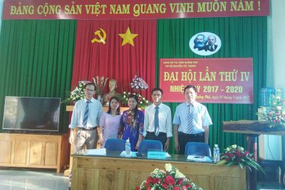 Đại Hội Chi Bộ Trường Thcs Nguyễn Tất Thành Nhiệm Kỳ 2017 – 2020