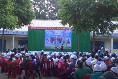 Ngoại khoá Câu lạc bộ nói tiếng Anh trường THCS Nguyễn Tất Thành Cư M'gar Đăk Lăk