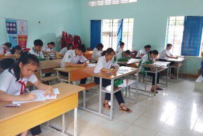 Khai mạc kỳ thi chọn HSG các môn văn hóa lớp 6,7,8 cấp trường năm học 2020-2021